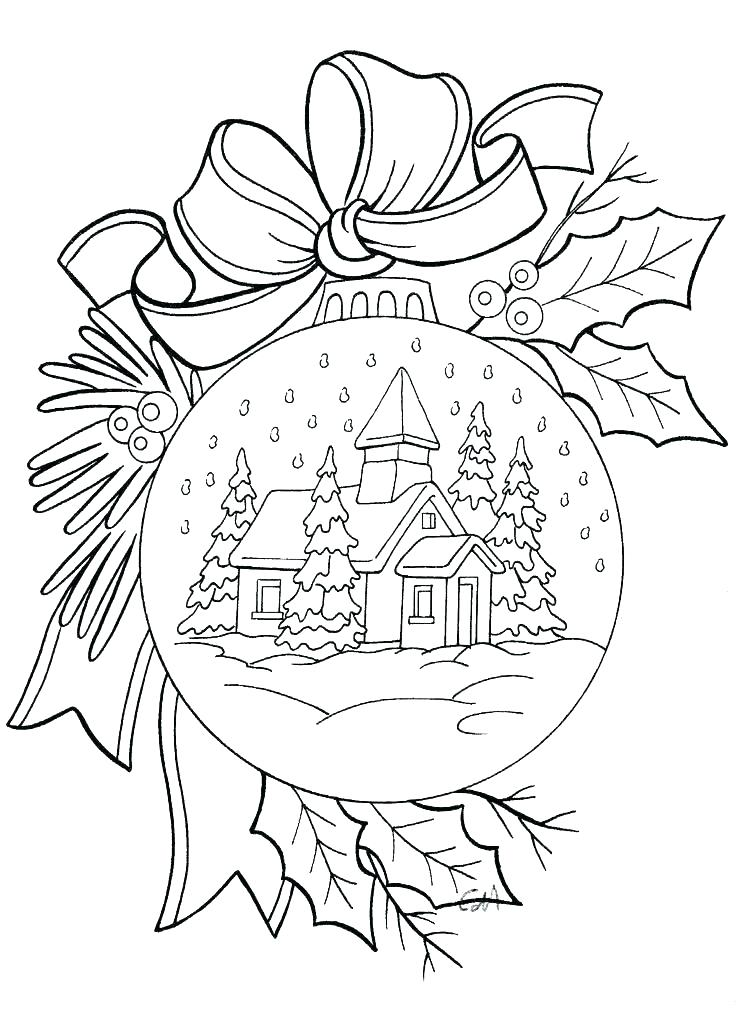 Mistletoe Coloring Pages At Getdrawings Com Free For Personal Use