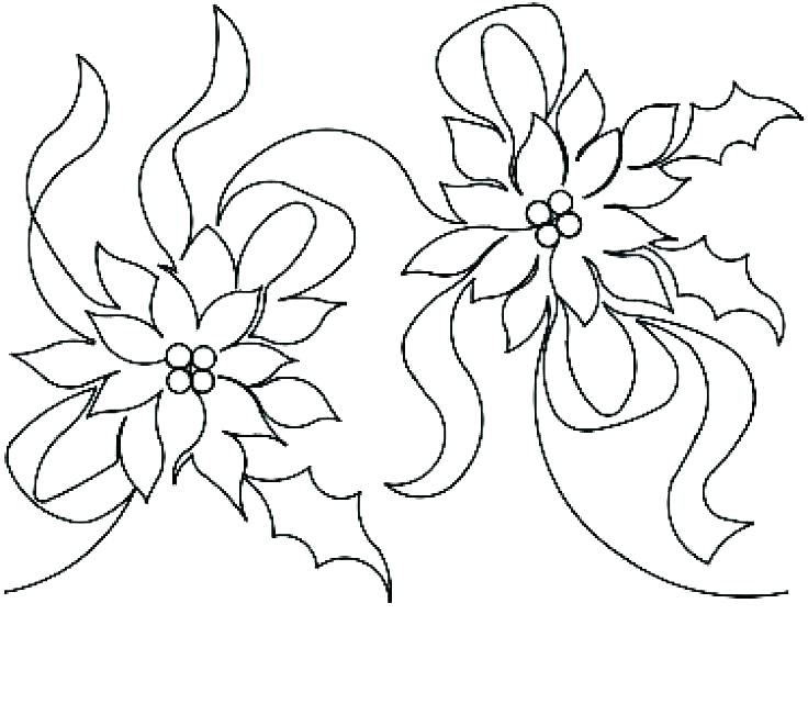 736x651 Mistletoe Coloring Pages Medium Size Of Mistletoe Coloring Pages