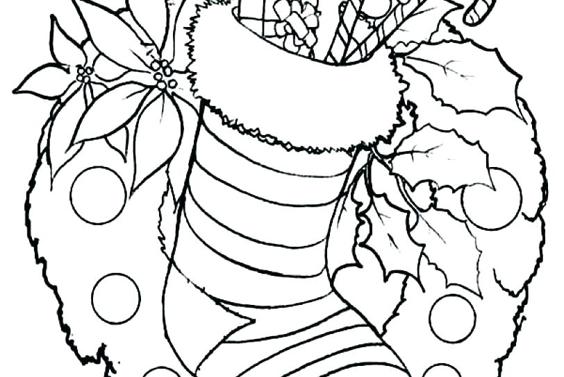 812x544 Christmas Coloring Pages Mistletoe For Kindergarten Free Spring