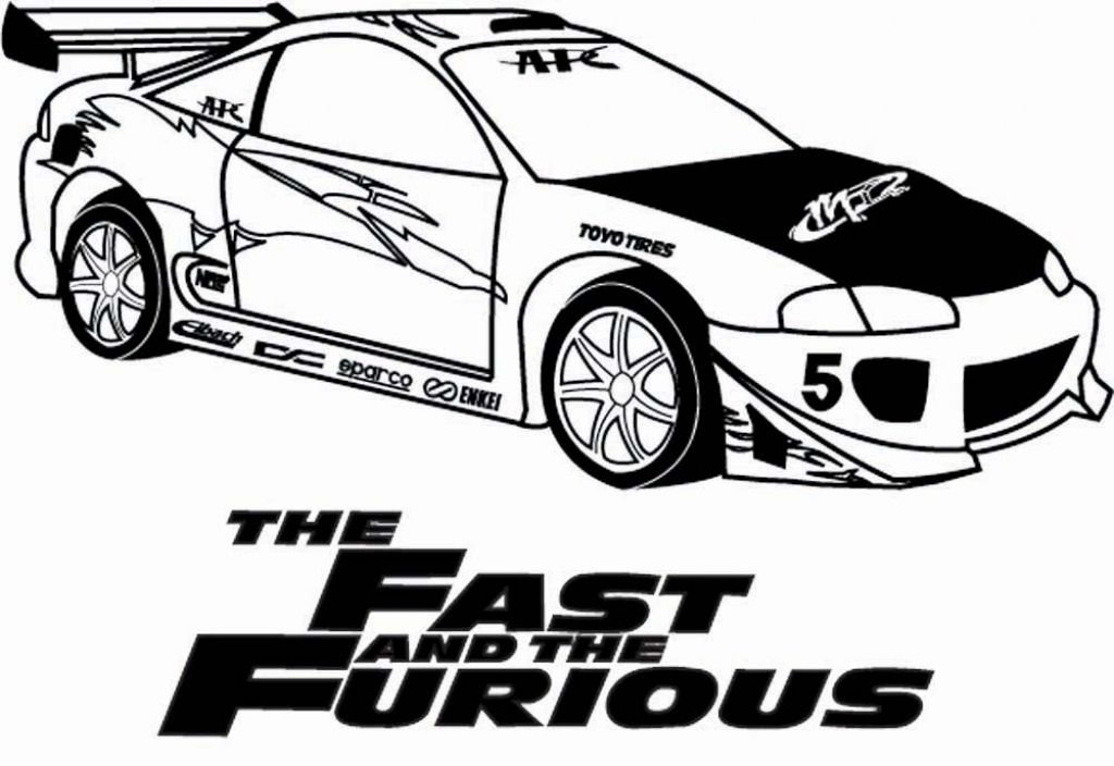 1024x704 Fast And Furious Coloring Pages Getcoloringpages Throughout Fast