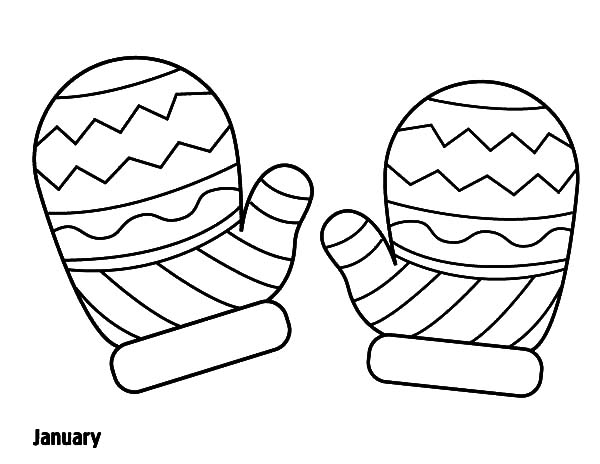 600x464 Mitten Coloring Pages Captivating Mitten Coloring Page Coloring