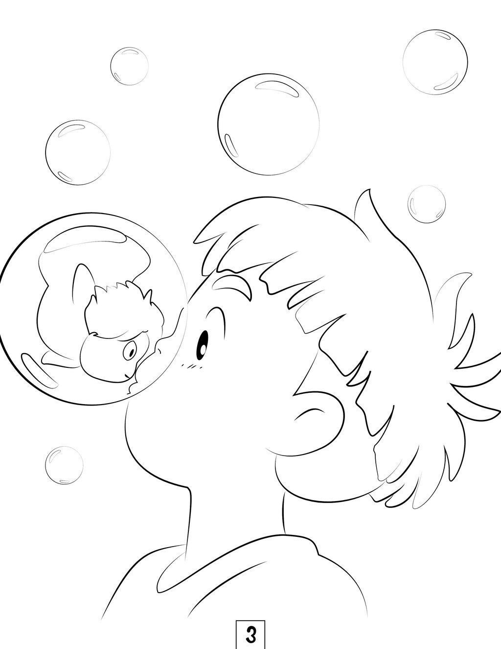 1024x1325 Studio Ghibli Coloring Pages Colouring Studio