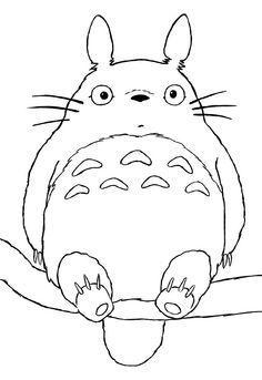 236x343 Totoro Para Colorear Manualidades Totoro