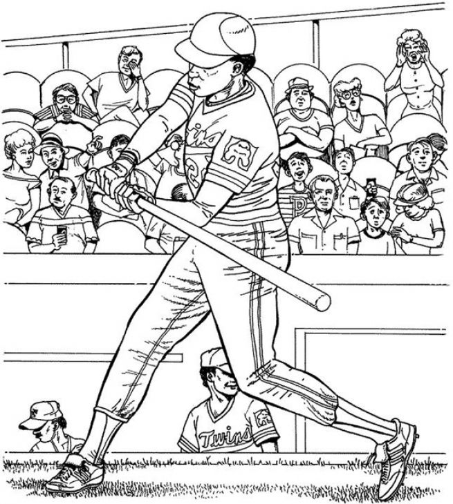 655x730 Major League Baseball Game Coloring Page Sports Coloring Pages