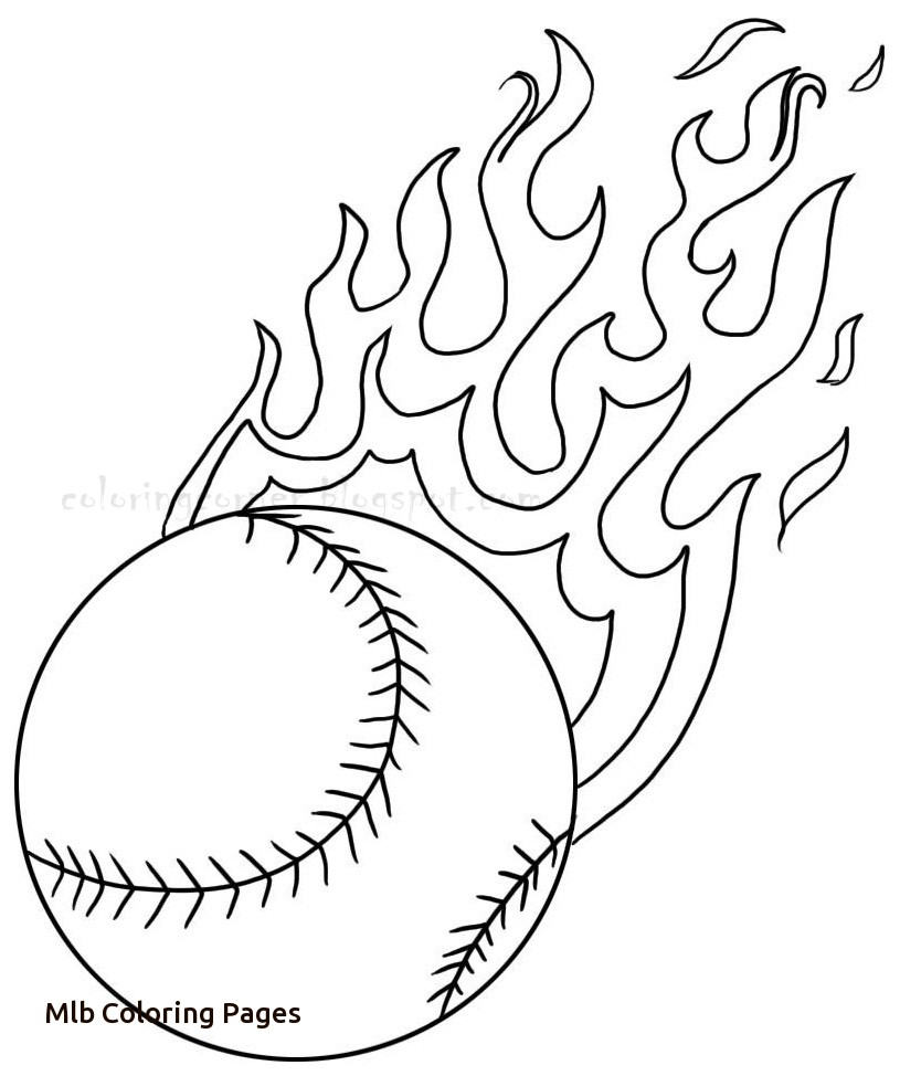 815x974 Mlb Coloring Pages