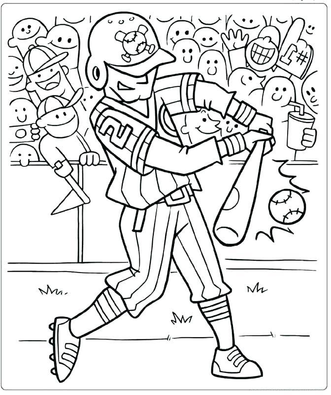 672x800 Mlb Coloring Pages Baseball Coloring Pages To Print Baseball