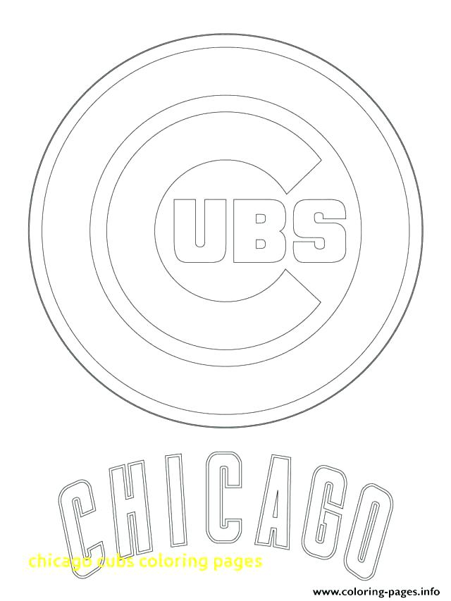 640x853 Mlb Coloring Pages Logo Coloring Pages Cubs Coloring Pages