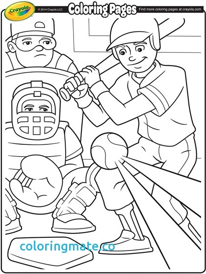 420x560 Mlb Coloring Pages Unique Baseball Coloring Page Crayola Com