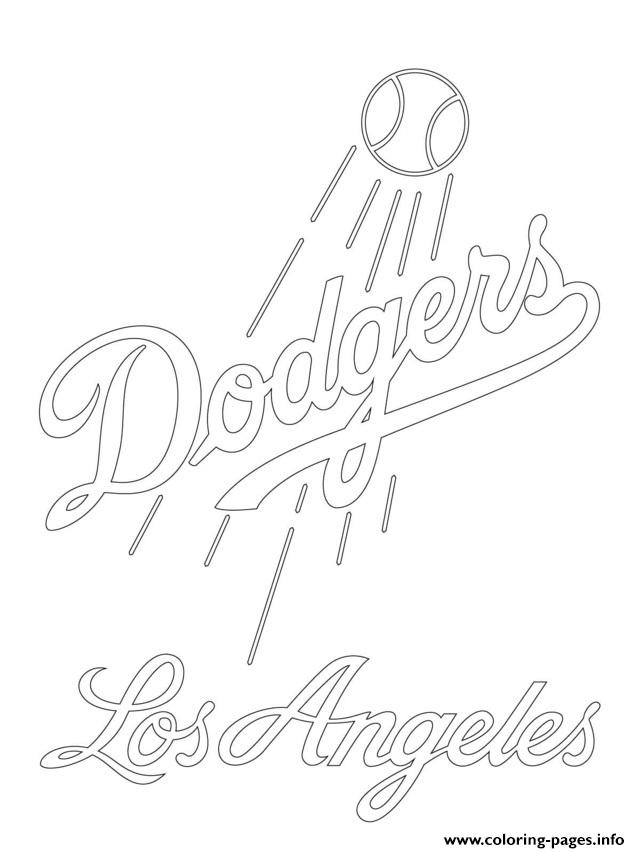 Mlb Logo Coloring Pages