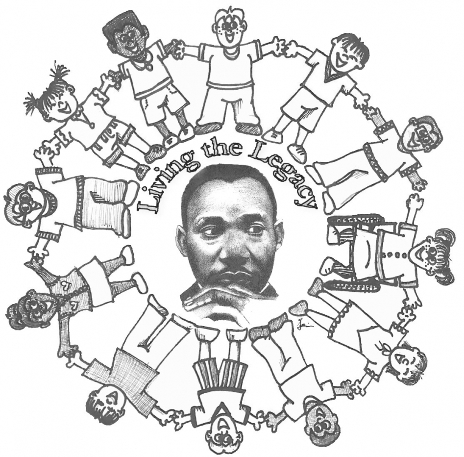 947x932 Martin Luther King Jr Day Coloring Pages Tgm Sports Within Mlk