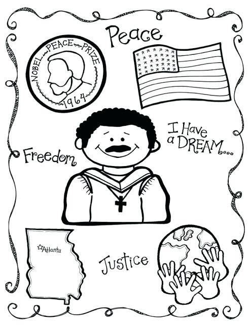 493x640 Mlk Coloring Sheets Martin King Coloring Pages Martin King Face