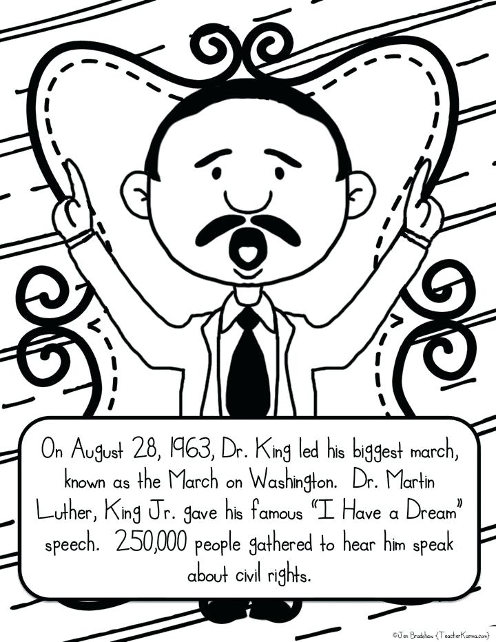 720x932 Mlk Day Coloring Pages Martin King Jr Free Coloring Pages