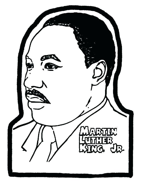 600x794 Mlk Day Coloring Pages Martin Luther King Day Coloring Sheets