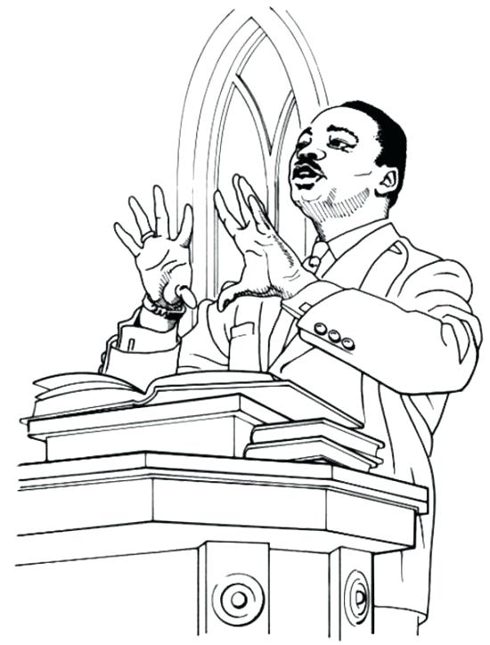 550x724 Mlk Day Coloring Pages