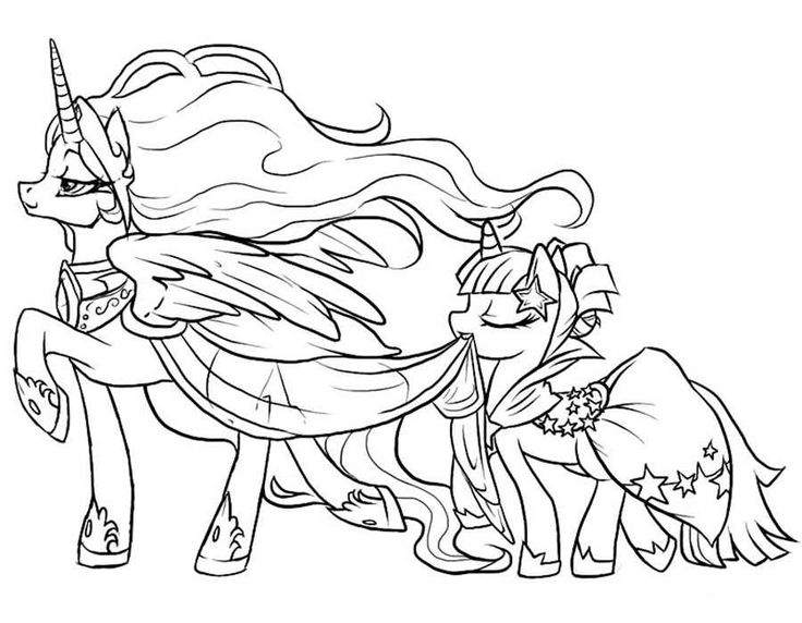 736x572 Best My Little Pony Coloring Pages Images On Kids Mlp