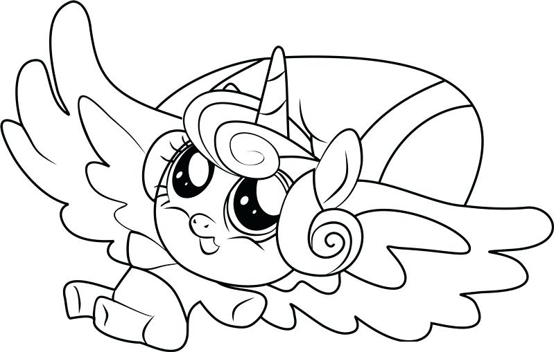 799x509 Mlp Coloring Pages Or My Little Pony Flurry Heart Coloring My
