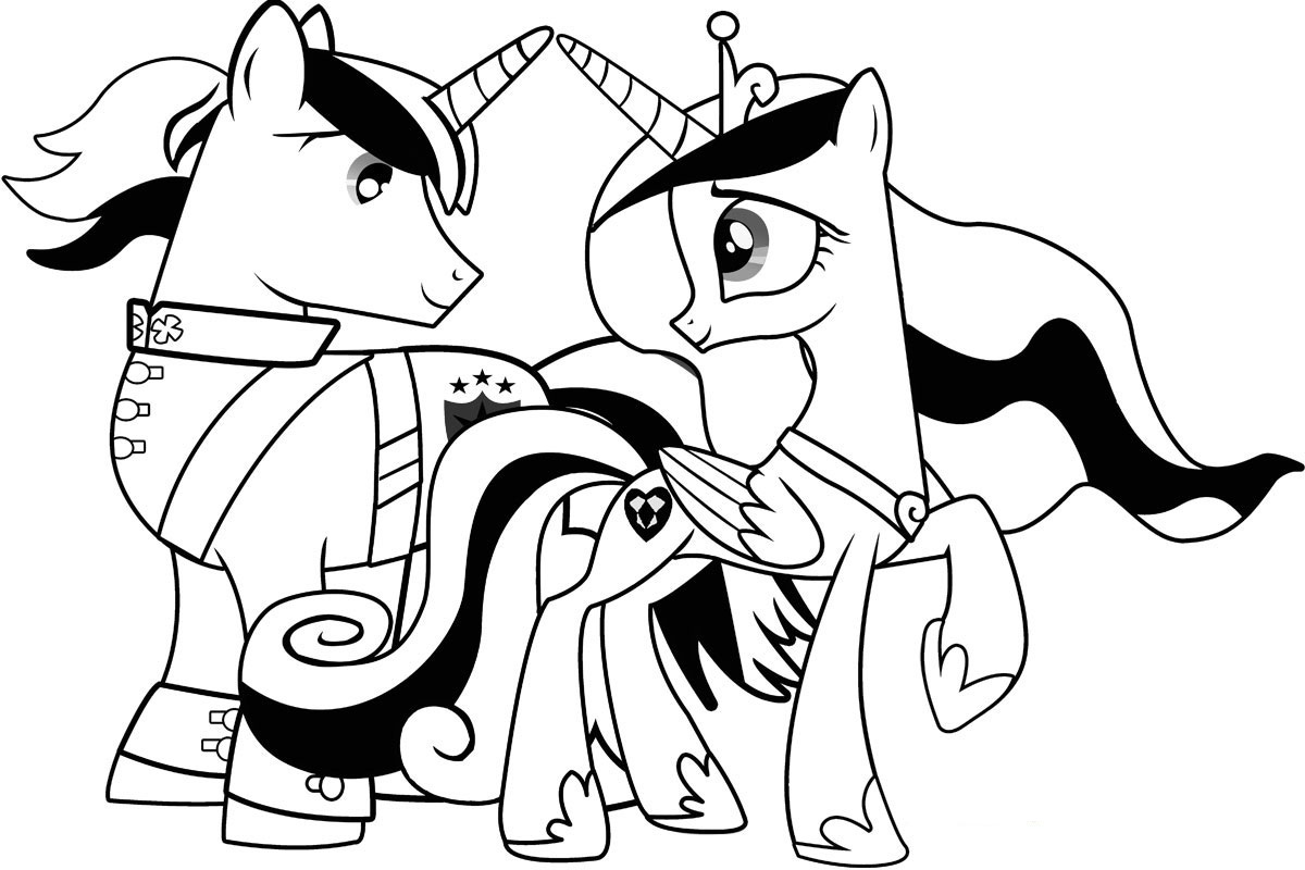 1200x800 My Little Pony Friendship Coloring Pages