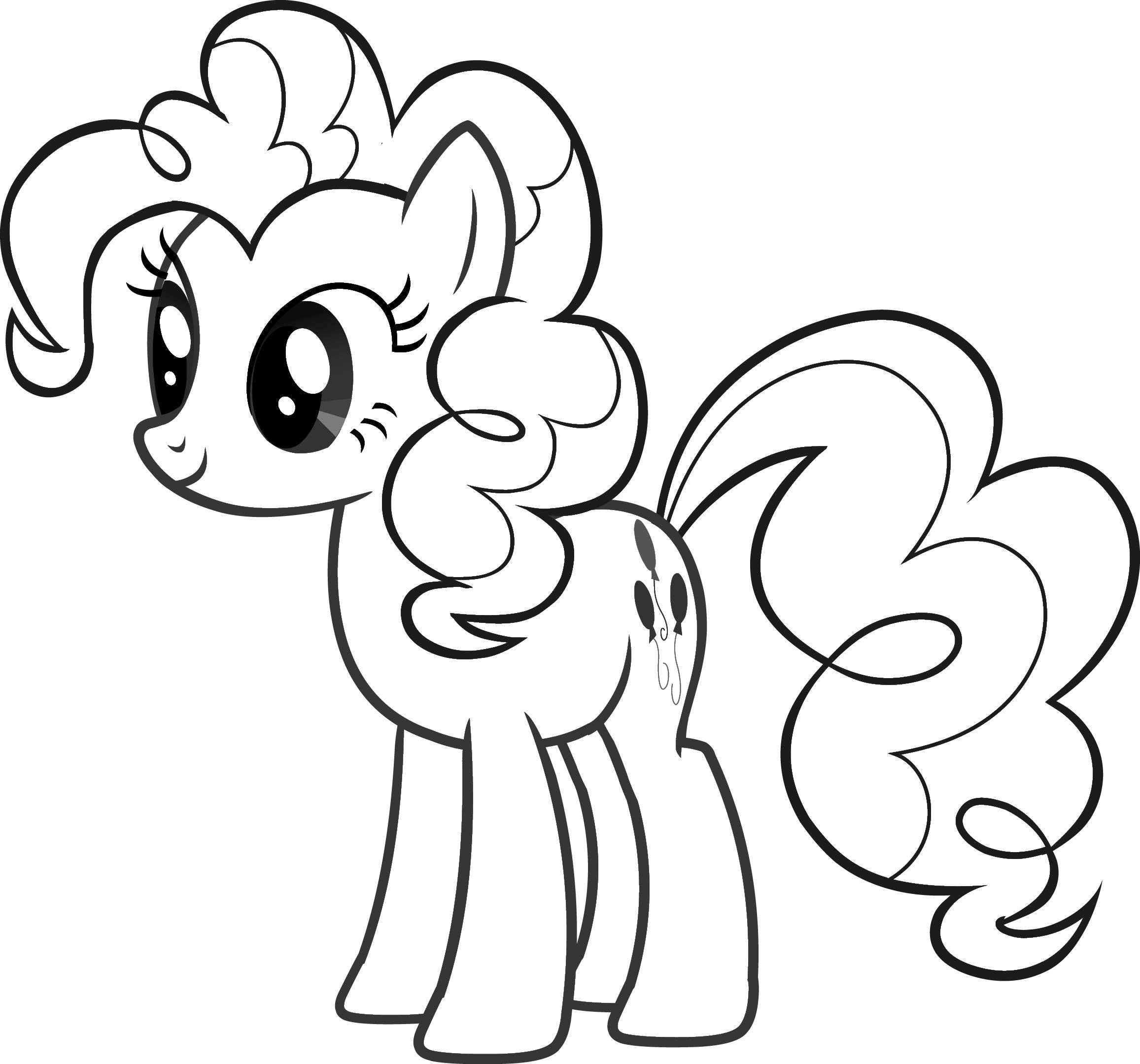 2313x2159 Free Printable My Little Pony Coloring Pages For Kids Colorear