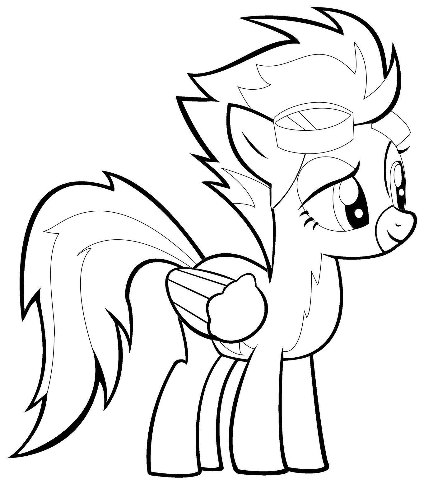 1437x1600 Surprising My Little Pony Spitfire Coloring Pages With Fluttershy