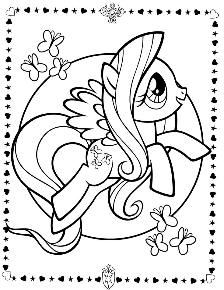 736x952 Free My Little Pony Coloring Pages Fluttershy Costume