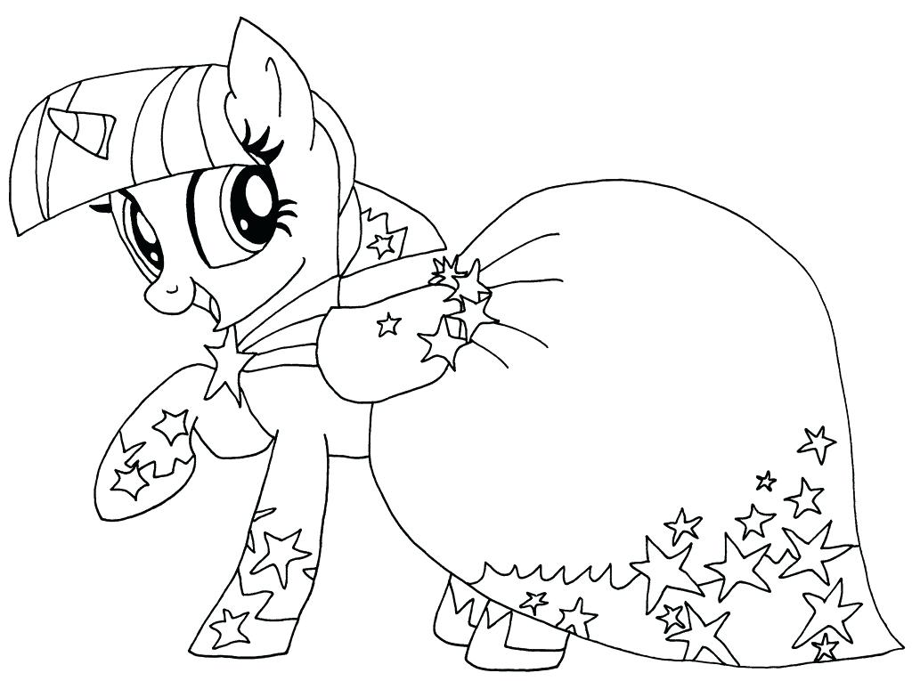 1024x765 Mlp Coloring Page My Little Pony Coloring Pages Twilight Sparkle