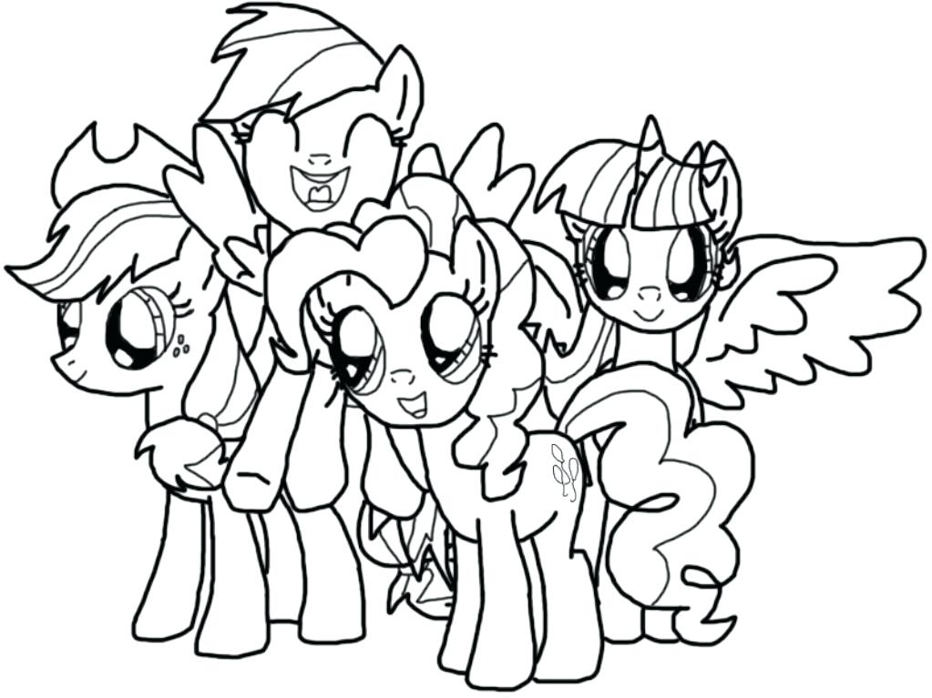 1023x767 Mlp Coloring Sheets Coloring Page