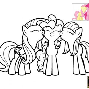 300x300 My Little Pony Coloring Pages Of Pinkie Pie Copy My Little Pony