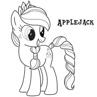 320x320 My Little Pony Coloring Pages
