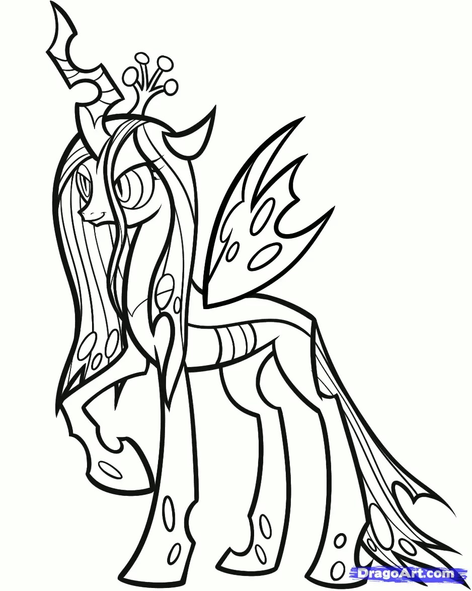 938x1174 Princess Luna Coloring Page Colouring Pages Tearing Mlp