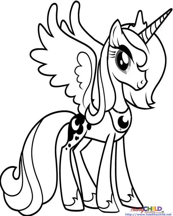 600x750 Princess Luna Mlp