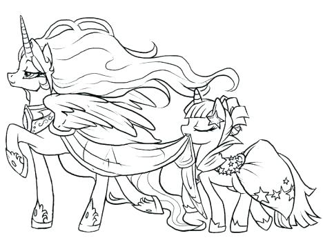 468x364 Mlpeg Coloring Pages My Little Pony Coloring Page Star Song Mlp