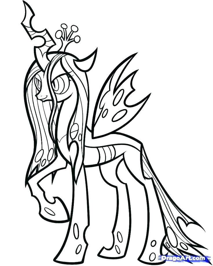 736x921 Cartoon Coloring Pictures My Little Pony Printable Colouring Pages