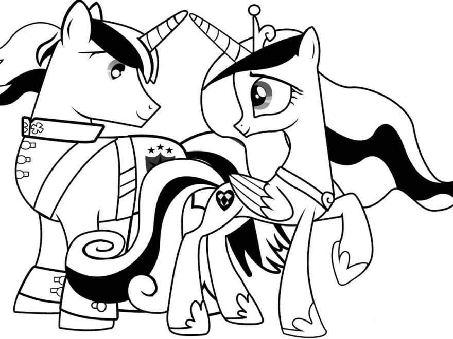 880x660 My Little Pony Coloring Pages Page