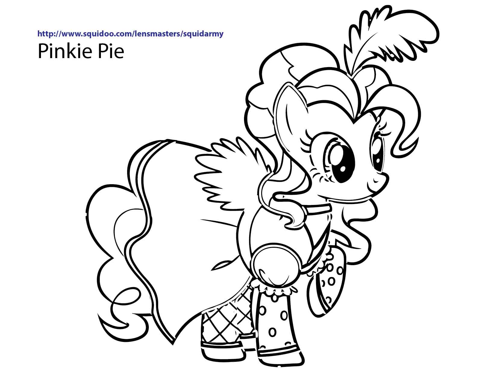 Mlp Coloring Pages Line At GetDrawings