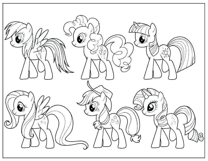 867x670 Mlp Coloring Games