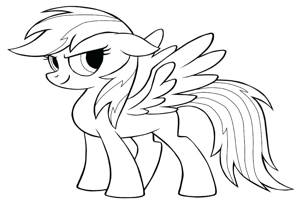 1000x667 Rainbow Dash Coloring Pages Rainbow Dash Coloring Pages Free