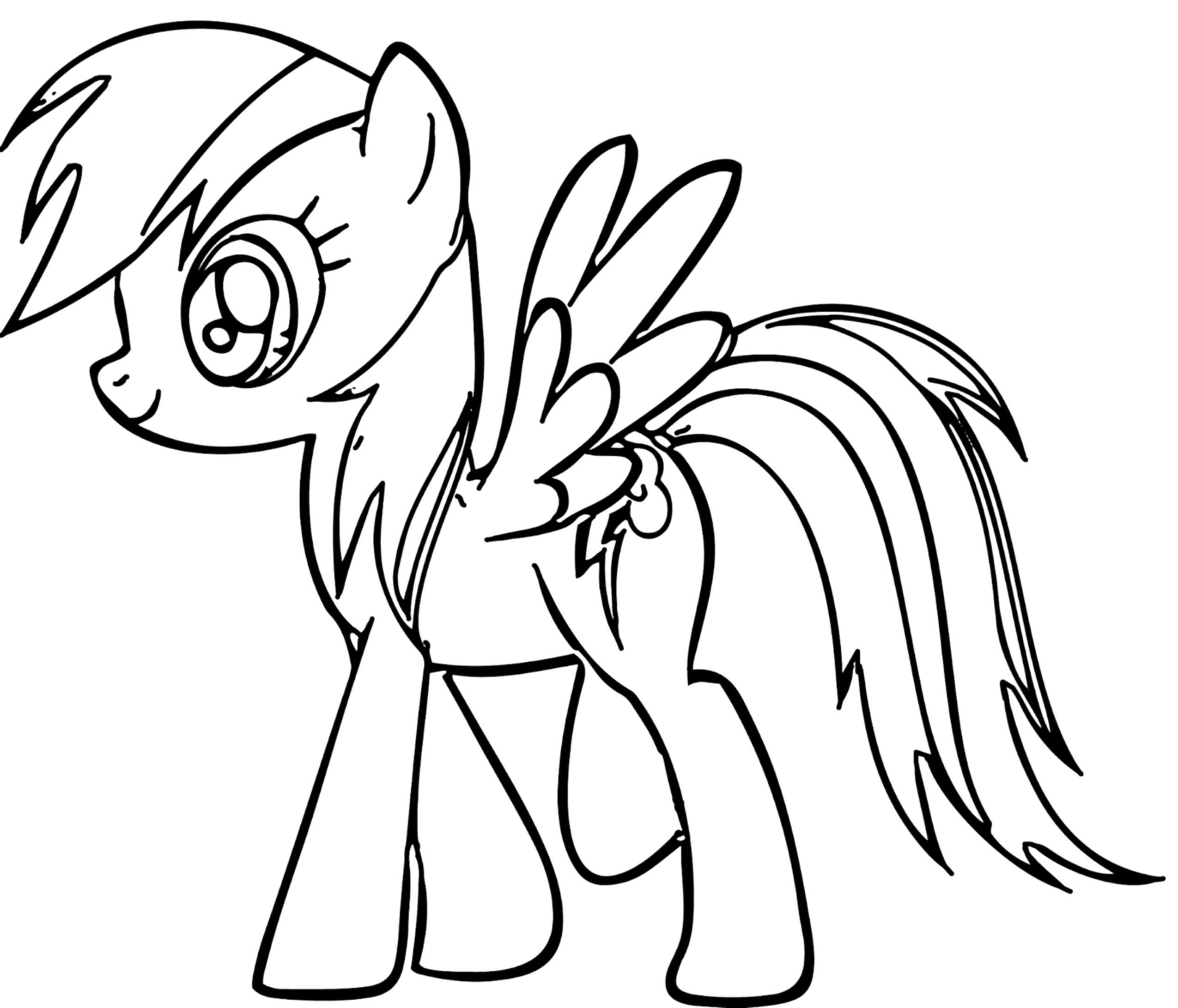 2550x2183 Staggering My Little Pony Coloring Pages Rainbow Dash