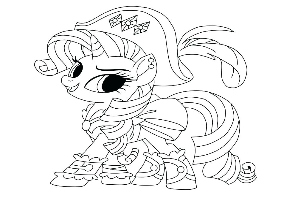 1000x667 My Little Pony Printable Coloring Pages My Little Pony Rarity