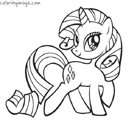 550x530 Rarity My Little Pony Coloring Pages My Little Pony Colouring Page
