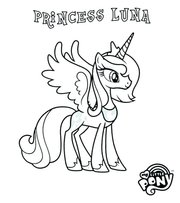 600x676 My Little Pony Friendship Is Magic Coloring Sheets