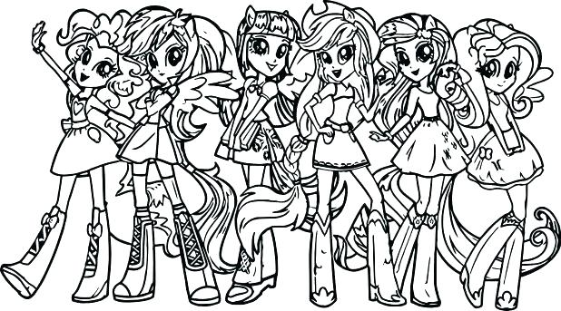Mlp Eg Coloring Pages
