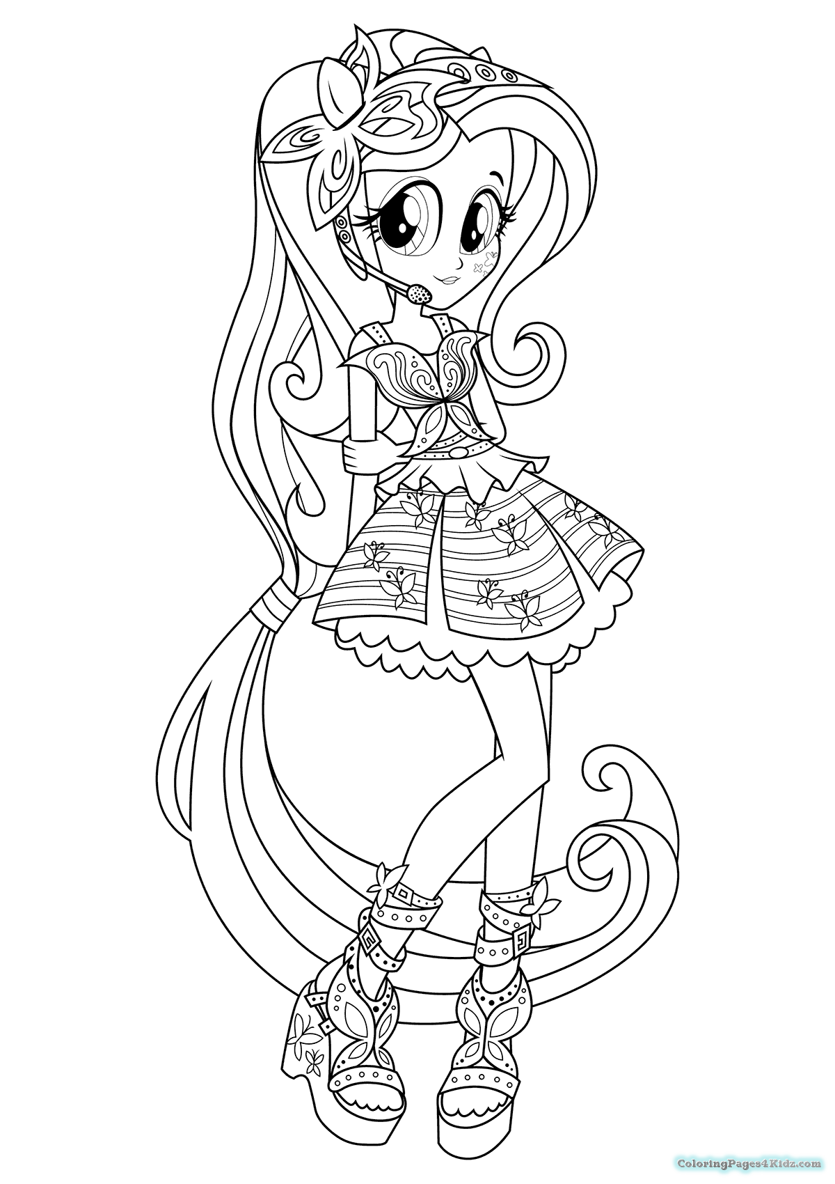 1200x1700 Equestria Girls Rainbow Rocks The Dazzlings Coloring Pages