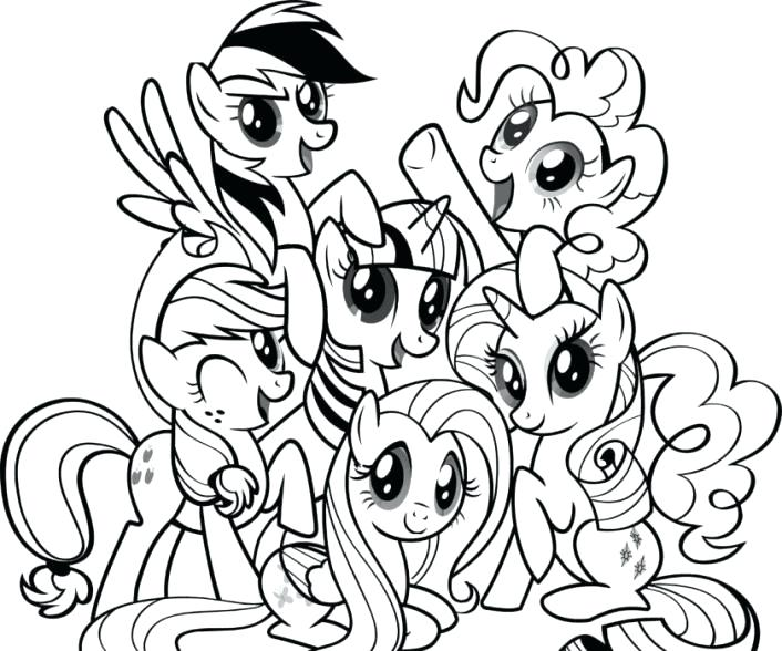 706x588 Mlp Coloring Page Coloring Pages My Little Pony Coloring Pages