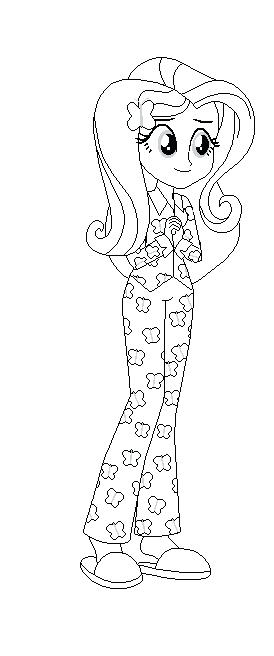 274x656 Mlp Eg Coloring Pages Coloring Page