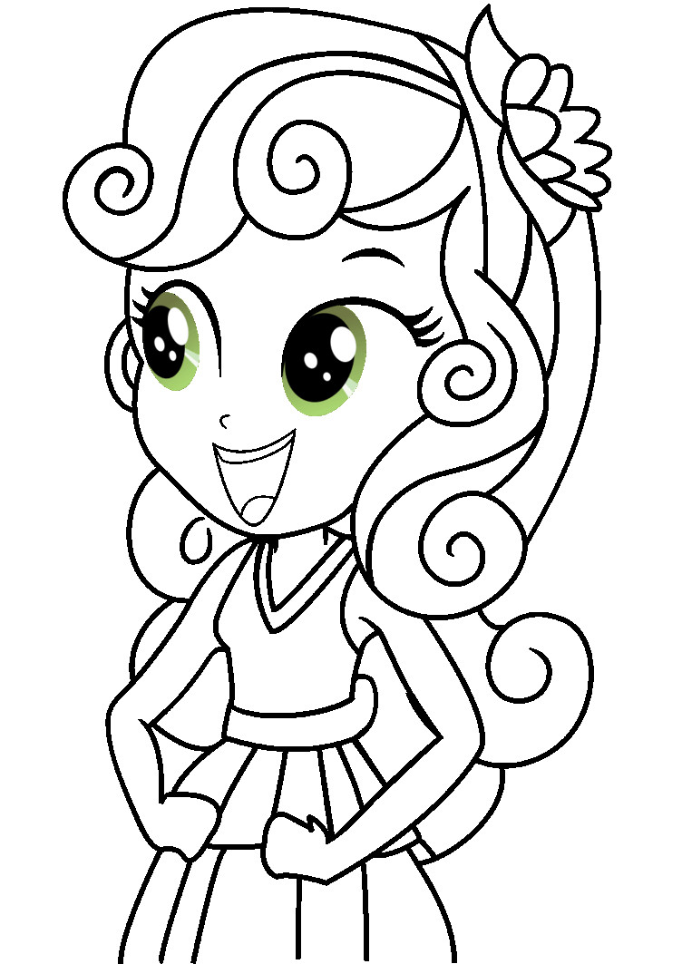 Kleurplaten My Little Pony Equestria.Mlp Equestria Girls Coloring Pages At Getdrawings Com Free For