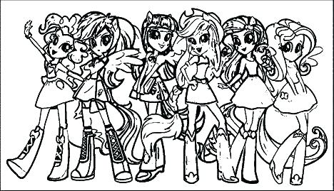 Mlp Equestria Girls Coloring Pages At Getdrawings Free Download