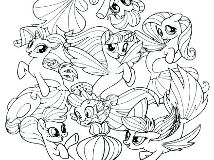 Mlp Friendship Is Magic Coloring Pages At Getdrawings Com