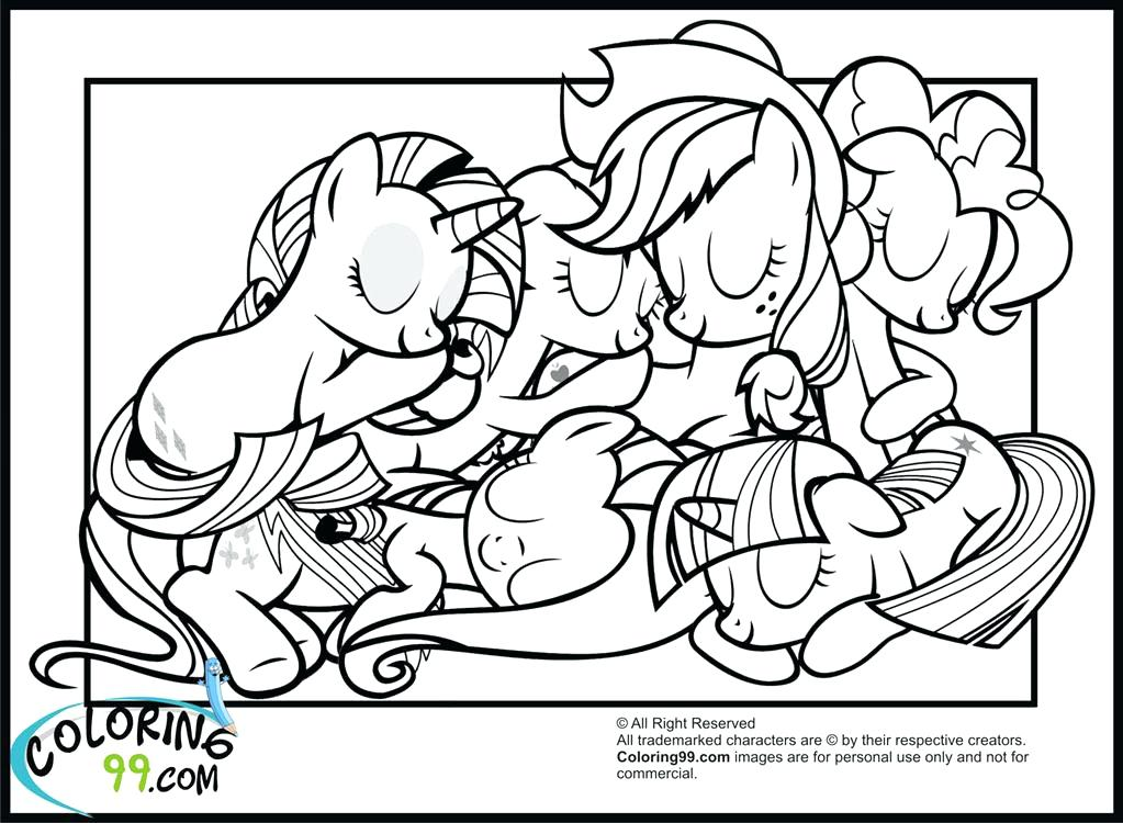 1023x750 Mlp Fim Coloring Pages Best Coloring Pages Of My Little Pony