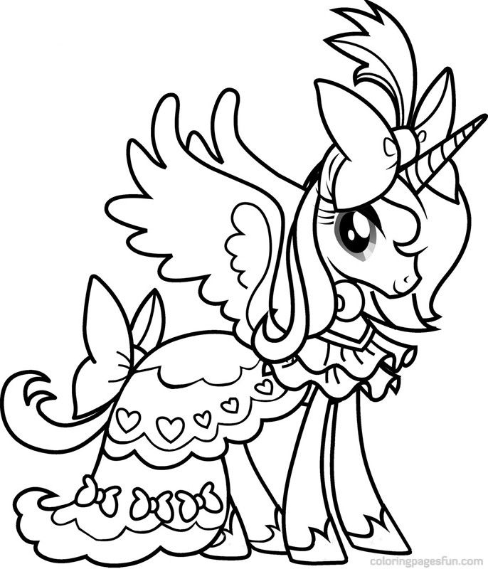 Mlp Luna Coloring Pages At Getdrawings Free Download
