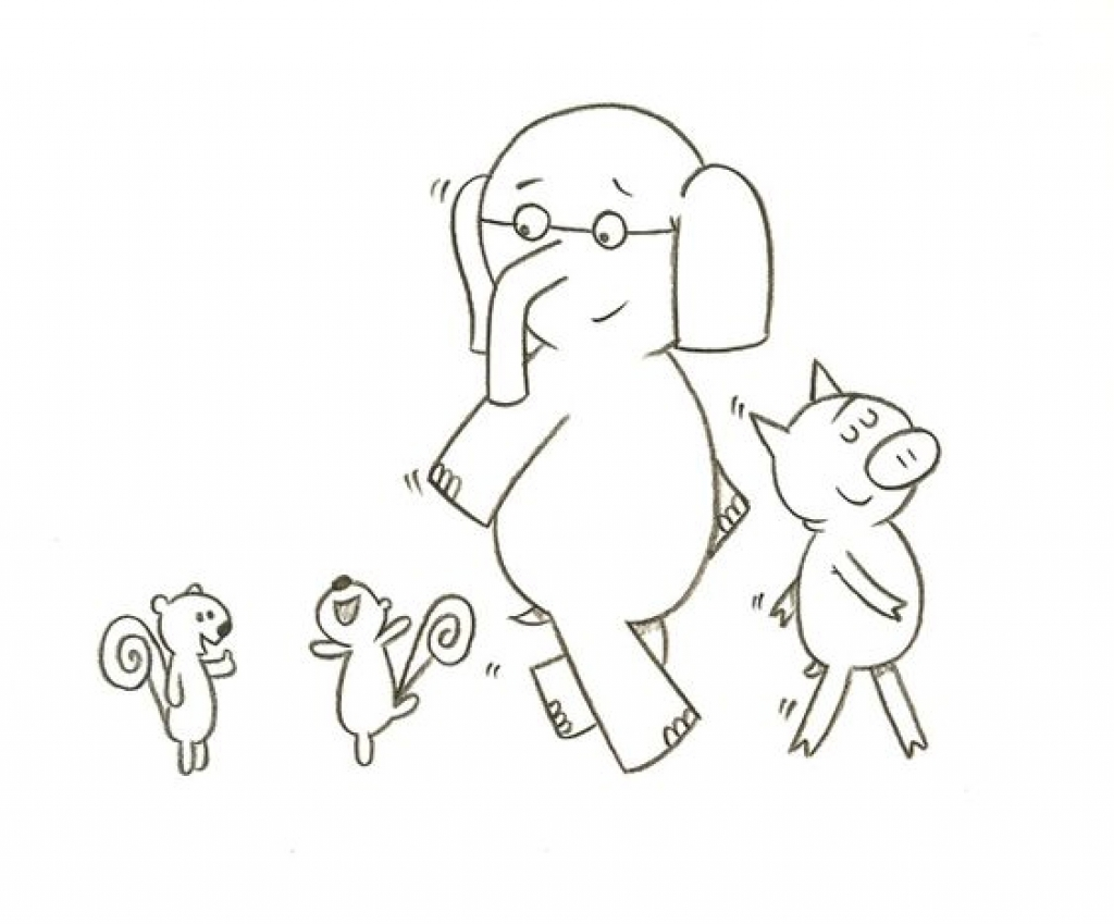 1024x849 Mo Willems Coloring Pages
